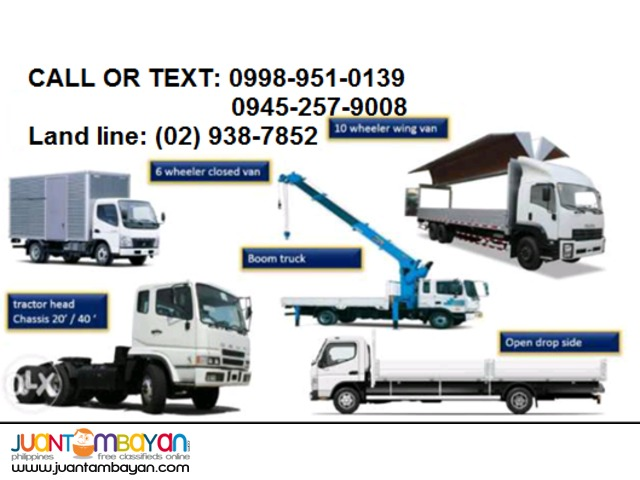 Fair Trucking Services Metro Manila