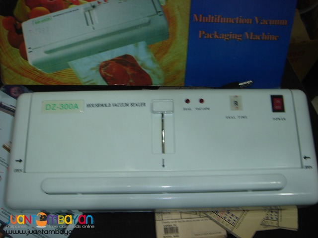 VACUUM SEALER (PORTABLE)