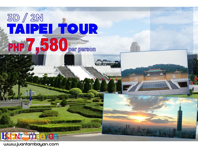 3D2N Taipei Tour Package