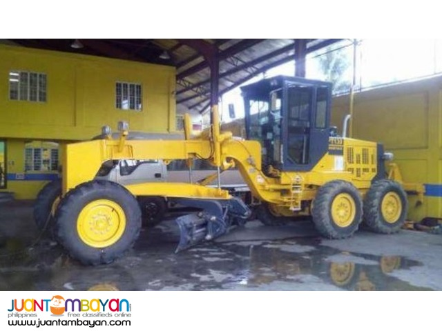 PT-130 MOTOR GRADER WITH RIPPER BLADE 12FT
