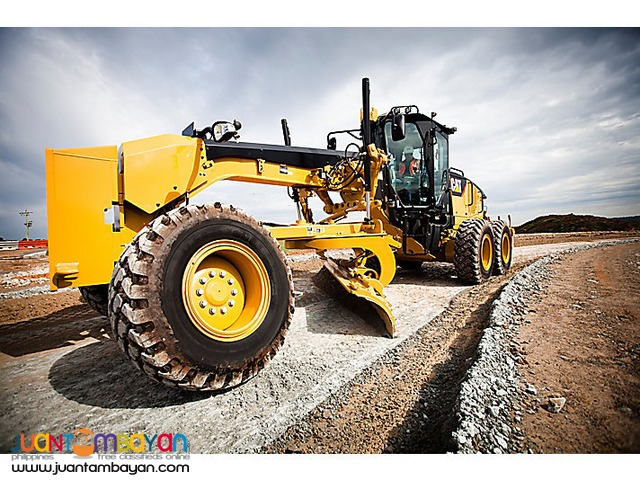 PT-160 MOTOR GRADER WITH RIPPER BLADE 13FT