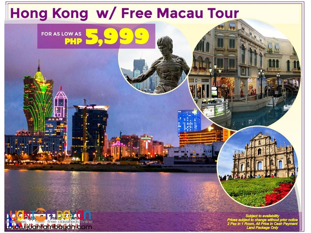Hong Kong with Free Macau