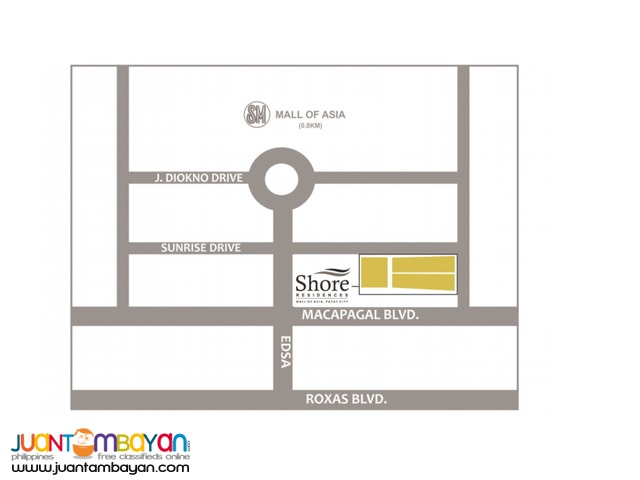 SHORE RESIDENCES NEAR MALL OF ASIA-PASAY 15,000++MONTHLY