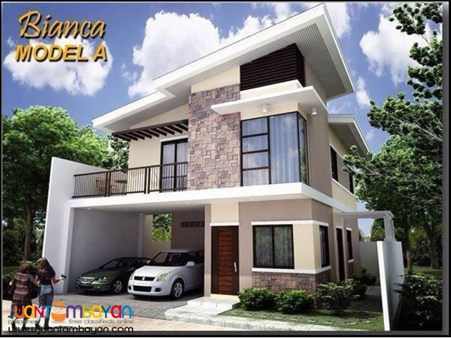 3br/2tb 2 storey Bianca Model South City Homes Minglanilla Cebu