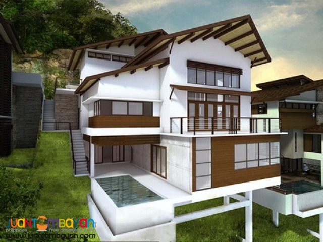 3 LEVEL OVERLOOKING HOUSE AT THE PEAKS MONTERRAZAS DE CEBU