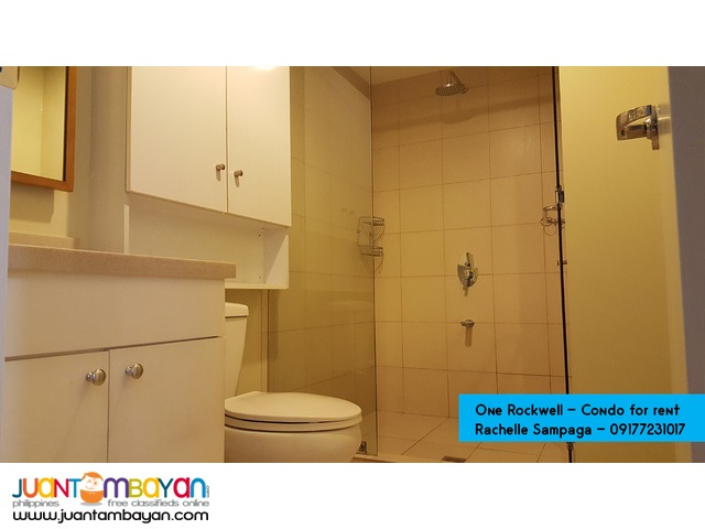 Condo for Rent (One Rockwell West, Rockwell Center, Makati City)