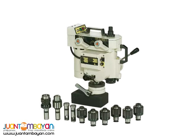 Portable Magnetic Drilling and Tapping Machine MTM-160