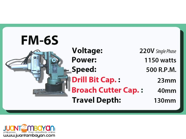Portable Magnetic Drill FM-6S