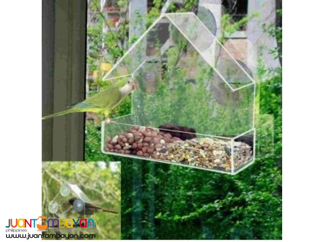 Homecare Window Bird Feeder Acrylic(Transparent)