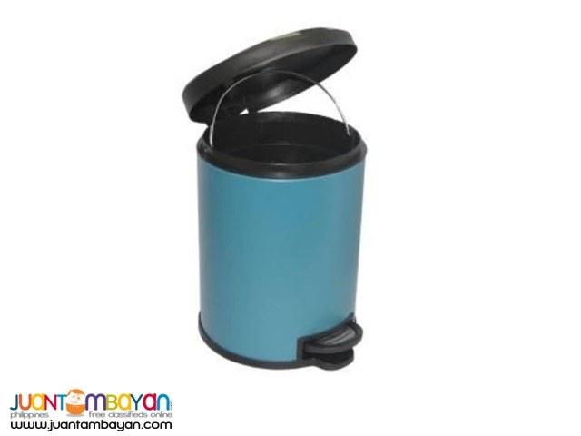 Pedal Bin 5L (Black and DArk Teal Green)