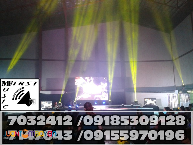 MOVING HEAD RENTAL DISCOLIGHTS LED PAR MOOD LIGHT@09155970196