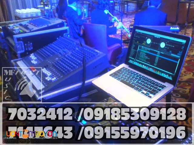 DJ SERVICES PARTY LIGHTS AUDIO VIDEO EQUIPMENT RENTAL@09155970196
