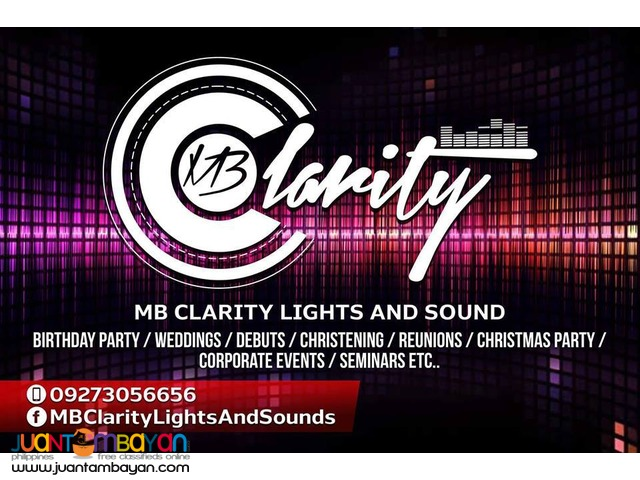 LIGHTS AND SOUNDS RENTAL