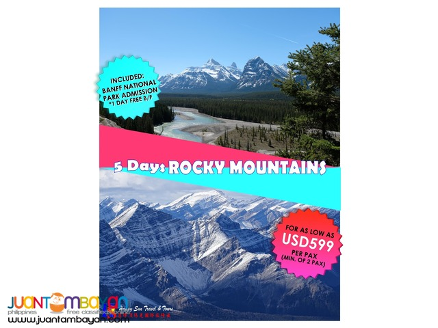 Rocky Mountains Free & Easy Package