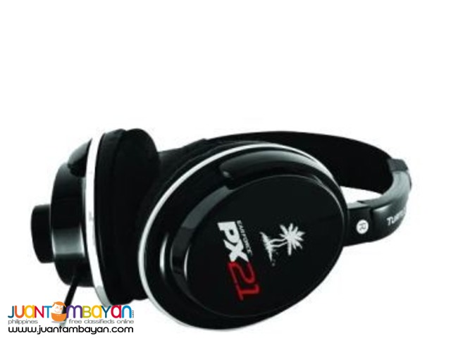Turtle Beach Ear Force PX21 Gaming Headphones (Black)