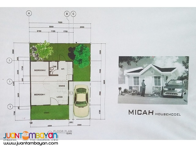 Micah Single House Model at Terraverde Residences Carmona Cavite