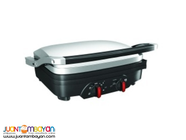 Deli Chef Contact griddle (Silver/Black)