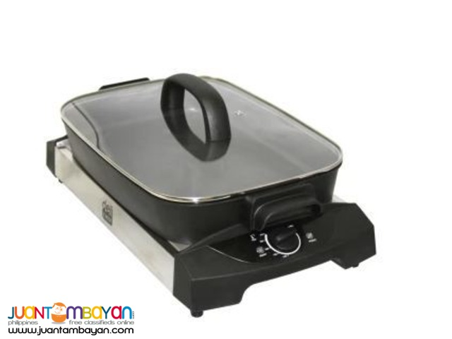 3in1 Indoor Electric Grill TGS-BBQ1008 5.6L