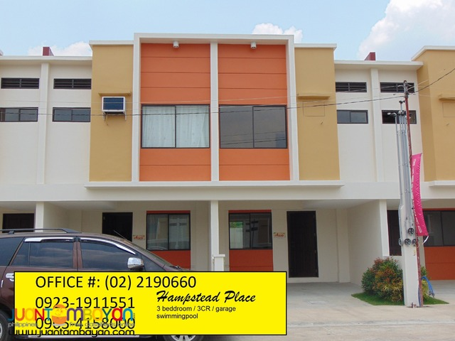 3bedroom House for Sale in Nangka Marikina w/ Swimmingpool Hampstead