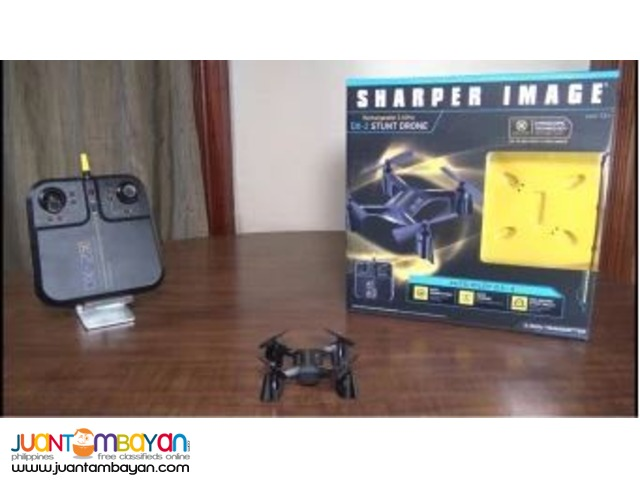 Sharper Image Rechargeable 24ghz Dx 2 Stunt Drone Muntinlupa City