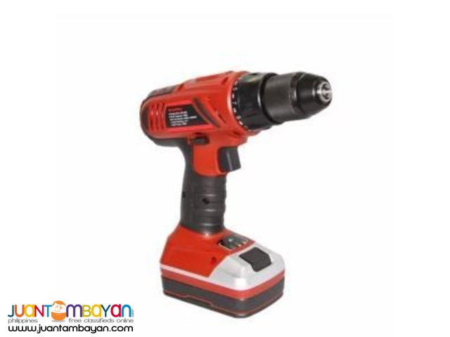 Schaffen Compact Cordless Drill Driver TGS-DJC158C (Black/Red)