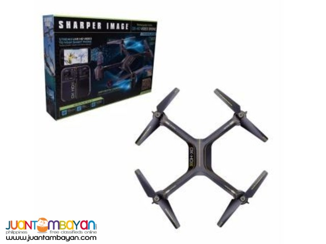 SHARPER IMAGE DX-4 HD VIDEO Streaming Drone