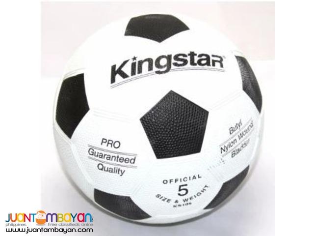 KINGSTAR Soccer Ball Rubber Size 5 (White)