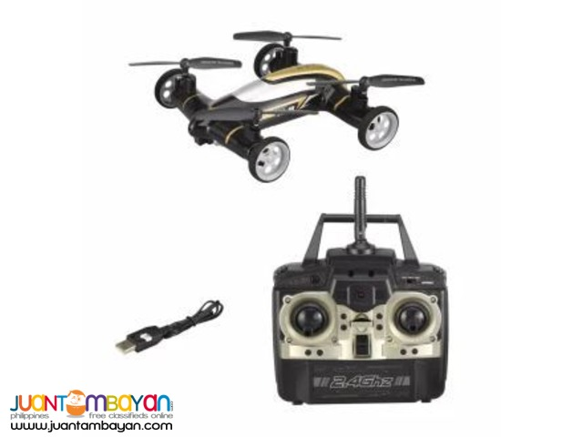 RC Quadcopter Land and Air