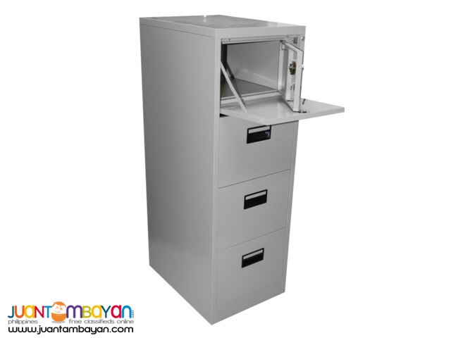 Cabinet Filing Steel with Vault FC-D4GRY