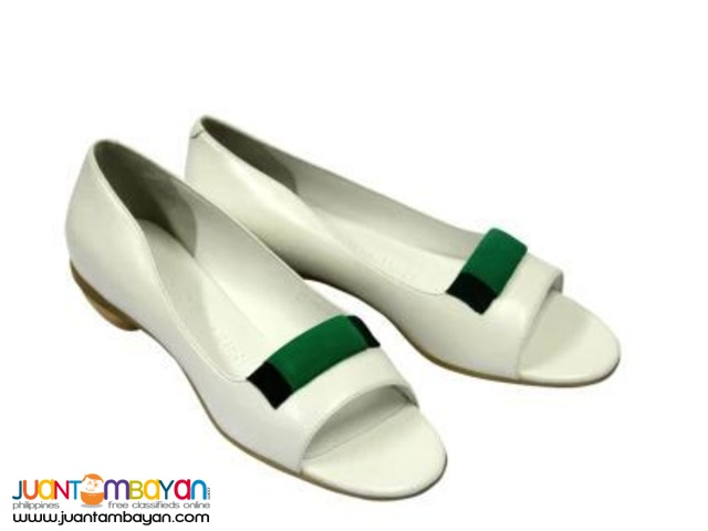 GLORY CHEN October-S US Size (Bianco Nappa Leather)