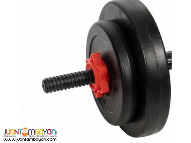 Active&Co Plastic Weight Set 20kgs (Black)