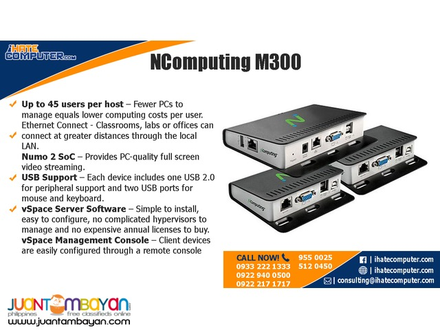 Ncomputing M300 by ihatecomputer.com