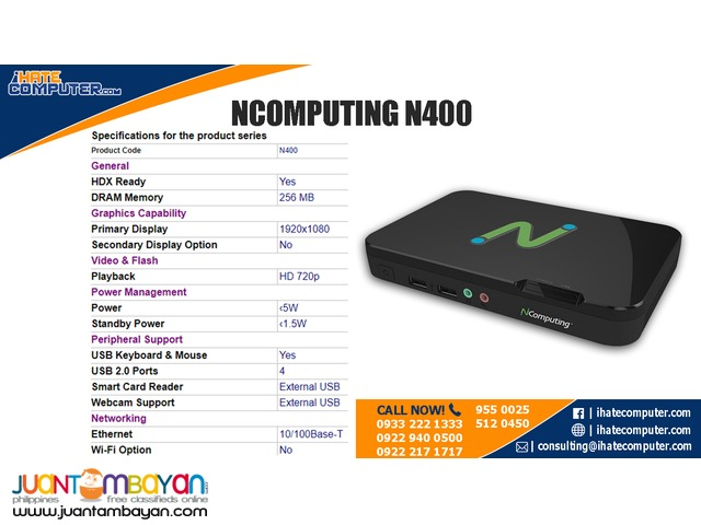 Ncomputing N400 by ihatecomputer.com