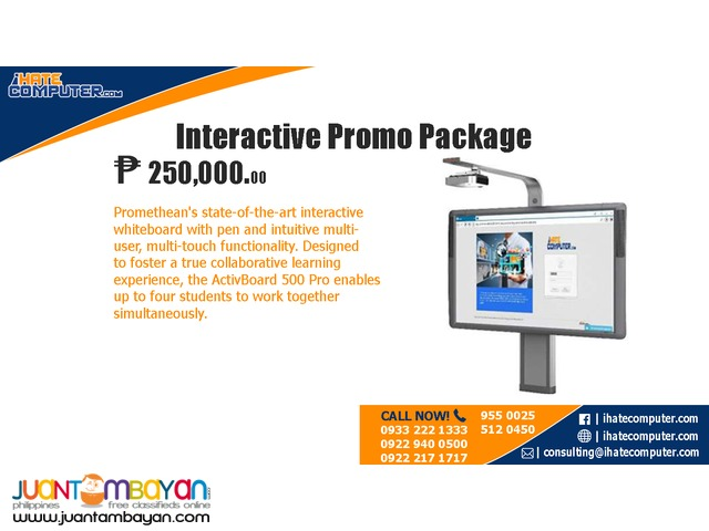 Interactive Promo Package by ihatecomputer.com