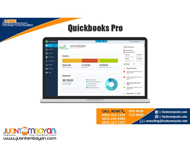 Quickbooks PRO 2017 International by ihatecomputer.com