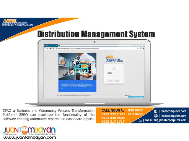 Distribution Management System by ihatecomputer.com