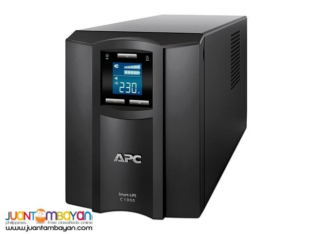 APC SMART-UPS C 1KVA LCD 230V PN:SMC1000I