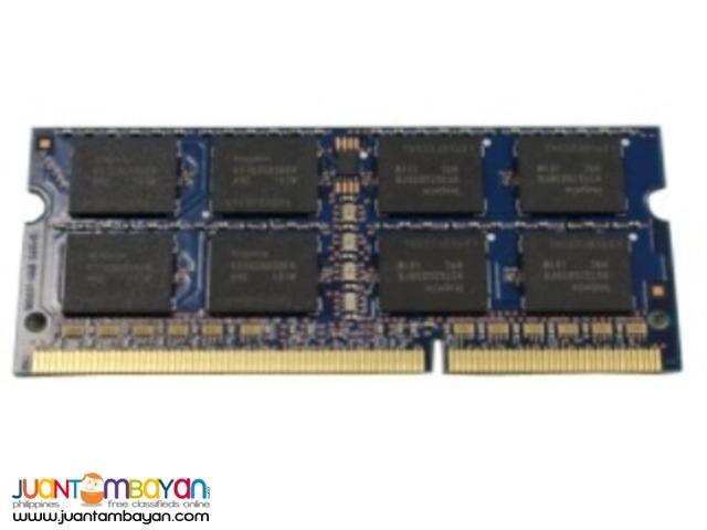 DELL 4GB, DIMM, 1333MHZ, 512X64, 8K, 204