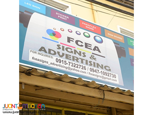 FCEA Sign and Advertising