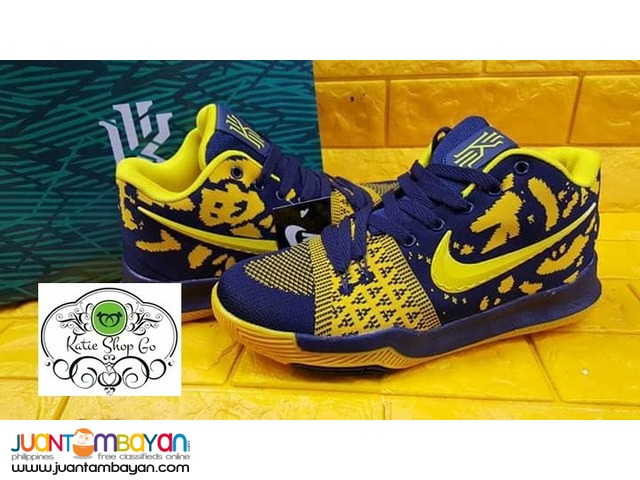 Nike Kyrie 3 - Mens Basketball Shoes - KYRIE SAMURAI EDITION