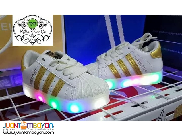 ADIDAS SUPERSTAR KIDS - ADIDAS KIDS SHOES WITH LED LIGHTS