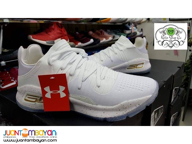 Under Armour Curry 4 Low Chef White Gold 2017
