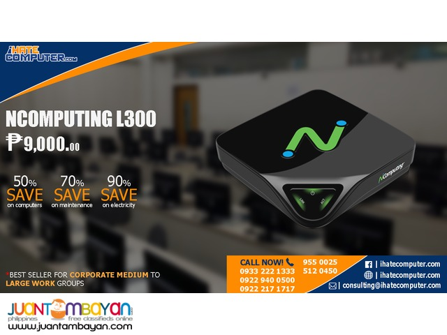 NComputing Virtual Desktop Thin Clients