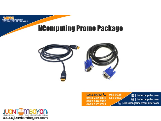 Ncomputing Promo Package by ihatecomputer.com