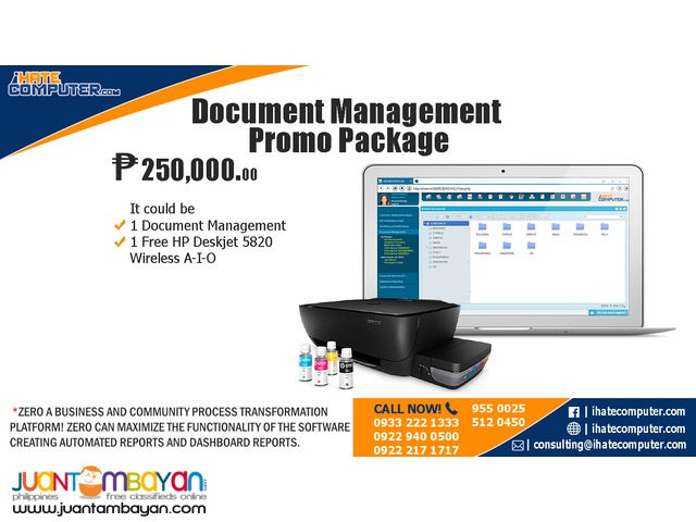 Document Management Promo Package by ihatecomputer.com