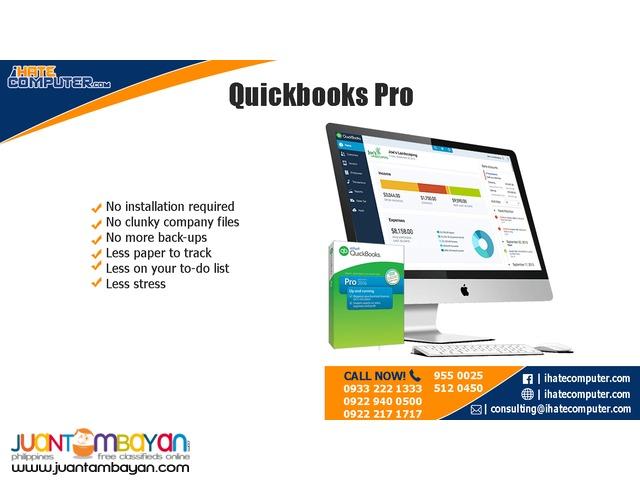 Quickbooks PRO 2017 International by ihatecomputer.com