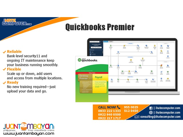 Quickbooks Premier 2017 International by ihatecomputer.com