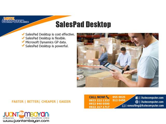 SalesPad Desktop by ihatecomputer.com