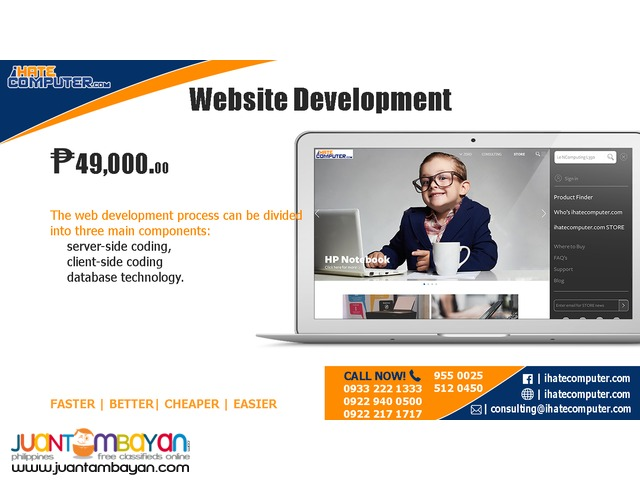 Website Development by ihatecomputer.com