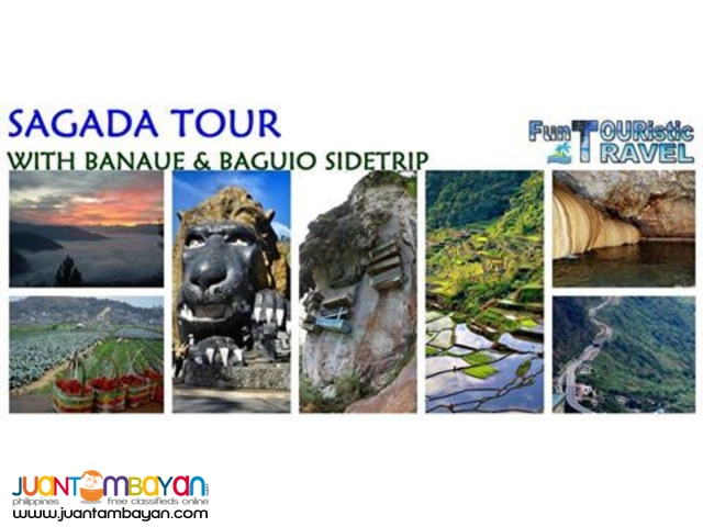 SAGADA TOUR WITH BANAUE AND BAGUIO SIDE TRIP